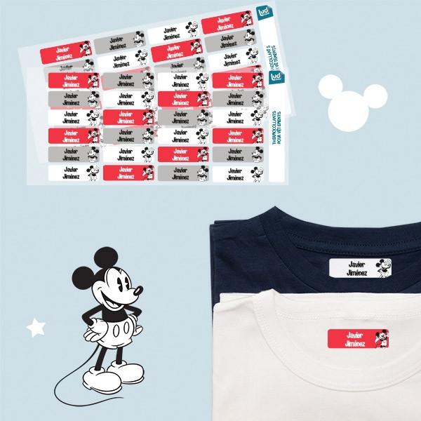 Pack de etiquetas personalizadas para ropa