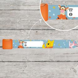 Pulsera identificativa niños - Winnie the Pooh Disney