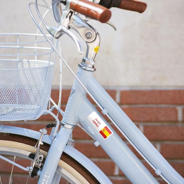 Pegatinas rectangulares para bicicleta