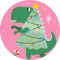 Navidad de locurillas Dinosaurios, Unicornio, etc ...