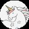 Unicornio en las nubes