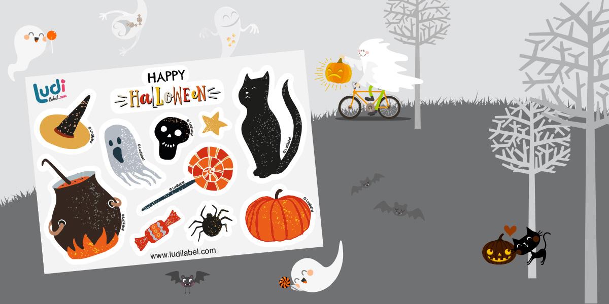 Las pegatinas de Halloween han llegado