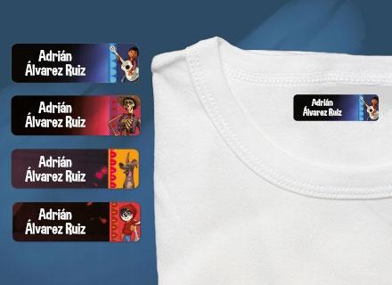 Etiquetas termoadhesivas ropa Coco