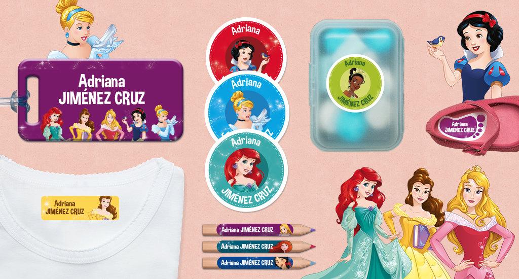 Idescubre las etiquetas de la Princesas Disney!