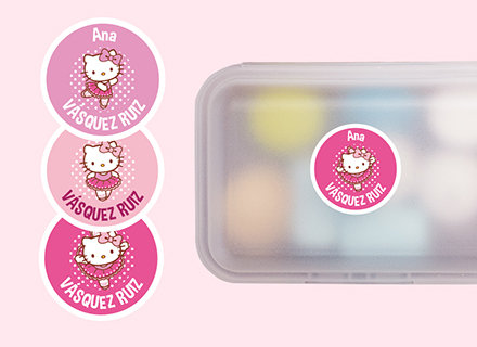 Pulsera identificativa y de seguridad infantil Hello Kitty
