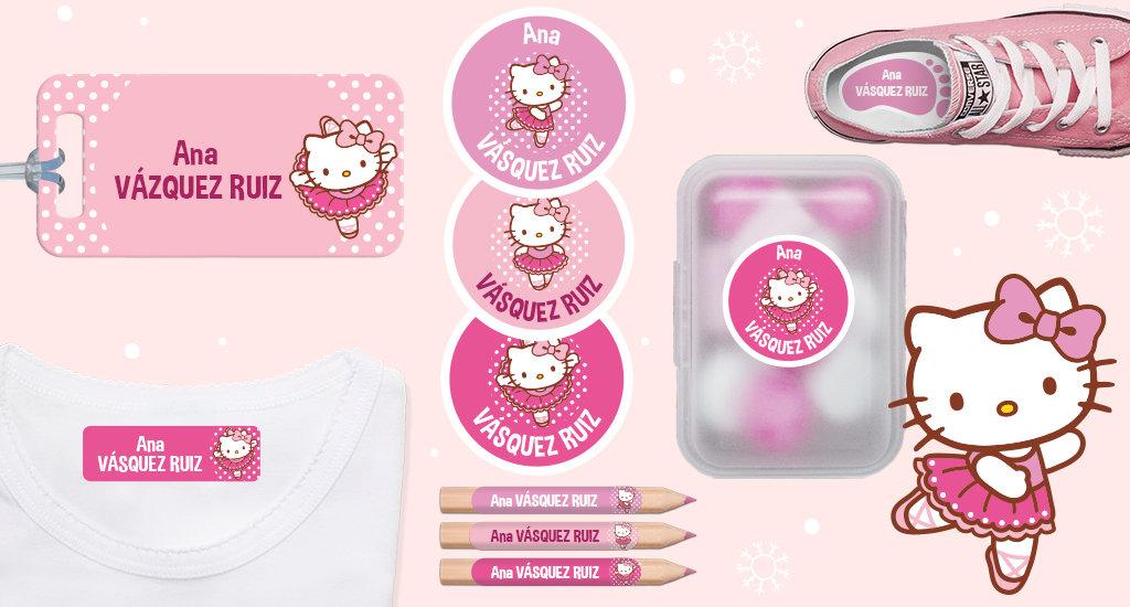 Descubre las etiquetas de Hello Kitty!
