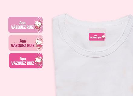 Etiquetas adhesivas Hello Kitty