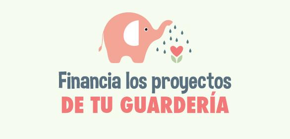 Financia los proyectos de la guardería
