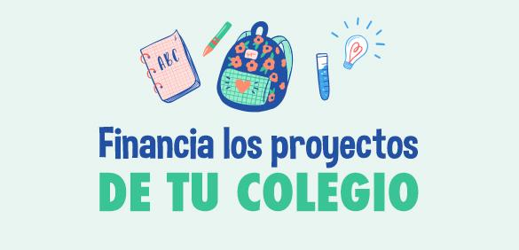 Financia los proyectos del colegio