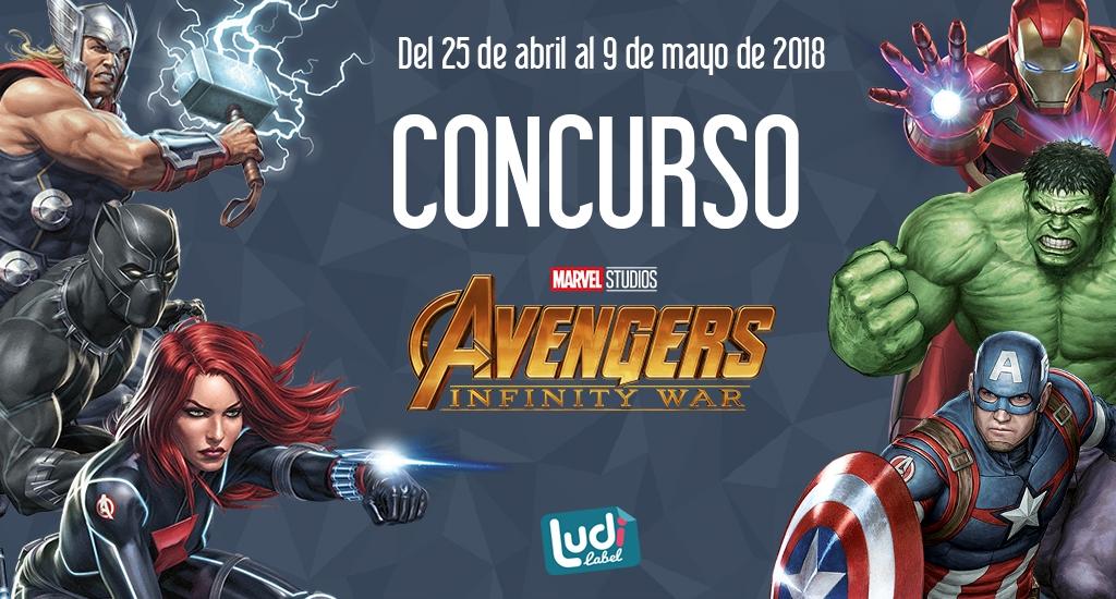 Concurso Ludilabel - Marvel Los Vendadores