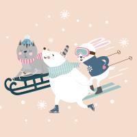 Animales Esquí