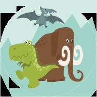 Mamut y Dinosaurio