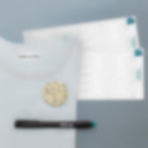 1 etiquetas termoadhesivas ropa blancas