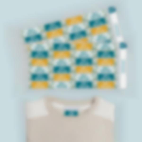 1 etiquetas termoadhesvias ropa plancha triangle