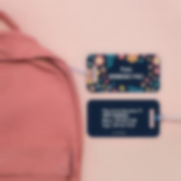 2 etiqueta maleta direccion