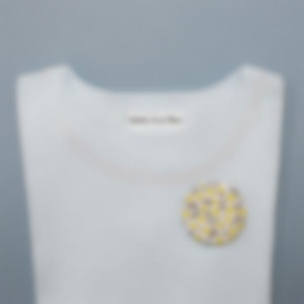2 etiquetas termoadhesivas ropa blancas