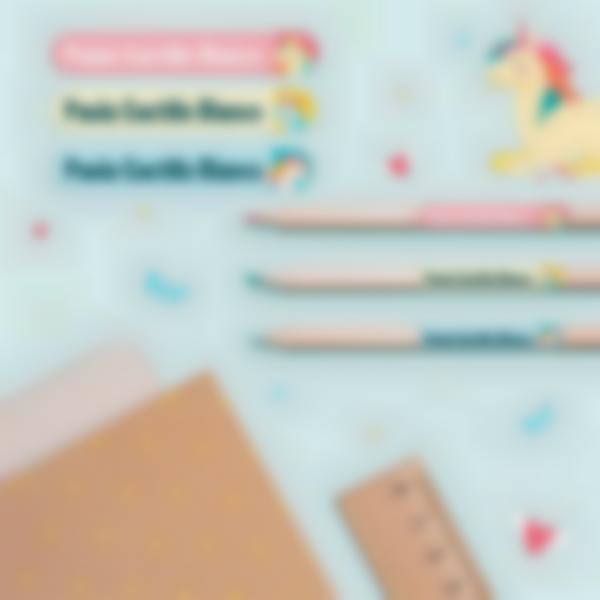 3 pack etiquetas colegio material escolar unicornio 21