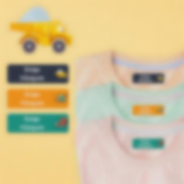 4 pack etiquetas educacion infantil construccion 2