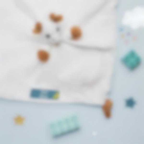 5 pack etiquetas guarderia escuela infantil nubes