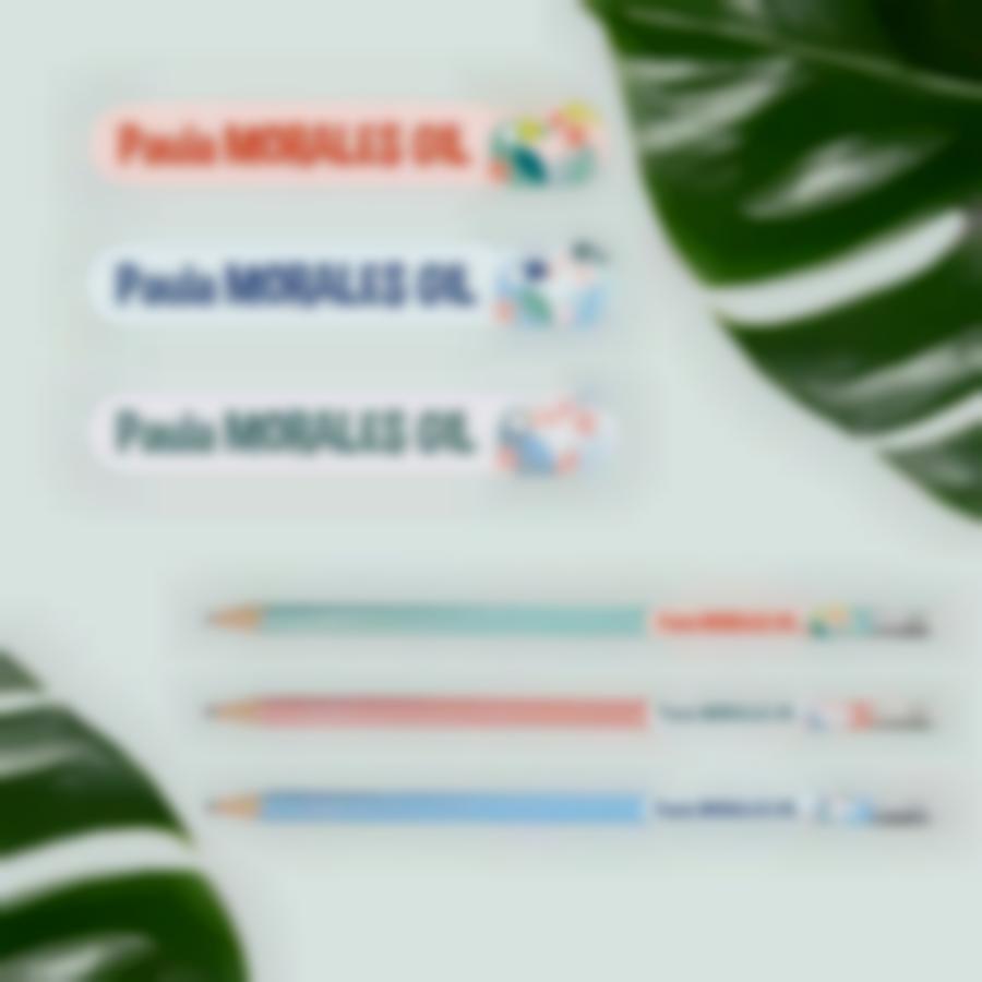 6 pack etiquetas basico tropical