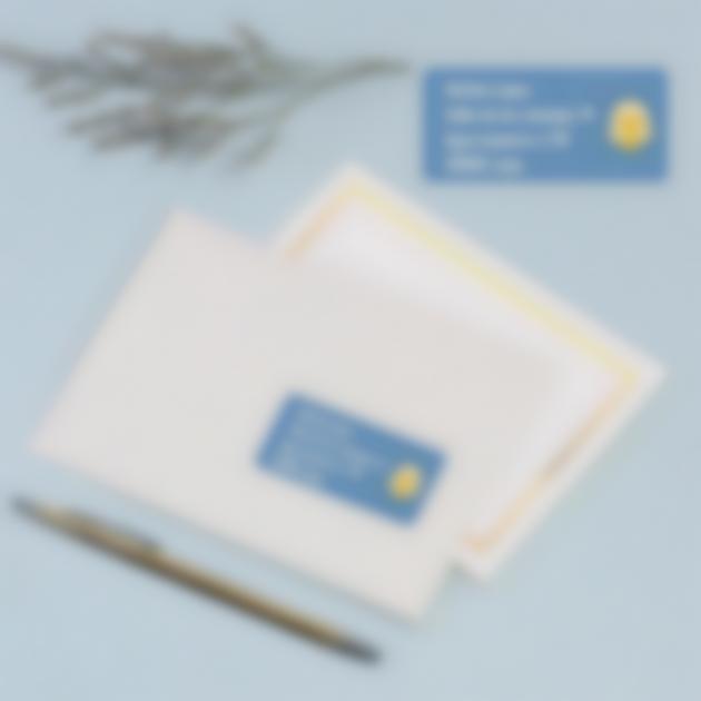 adhesivos sobre destinatarios para invitados comunion