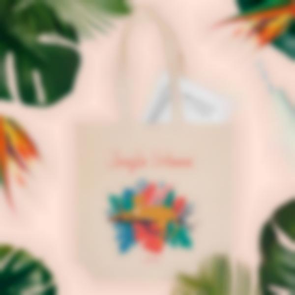 bolsa de tela personalizada jungle vibes 1