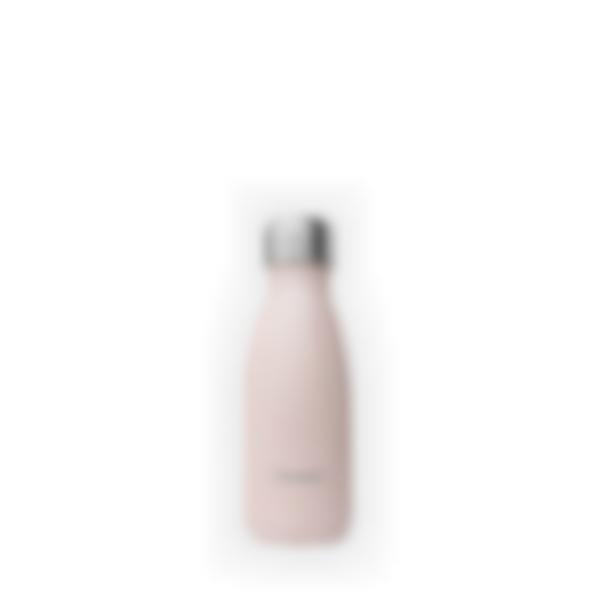 cantimplora isotermica acero inoxidable pastel rosa 260ml 1