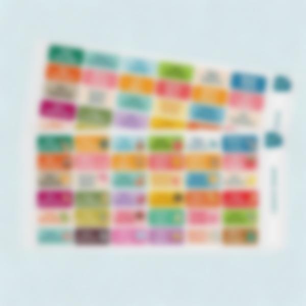 etiquetas adhesivas multi texto ludisticks 2