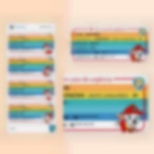 etiquetas de alerta e alerta polialergias pawpatrol multitexte pt 3