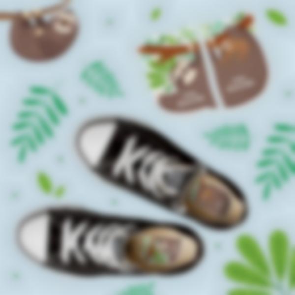 etiquetas intuitivas para zapatos perezoso