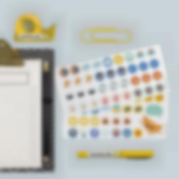 etiquetas para marcar todo material de oficina 2