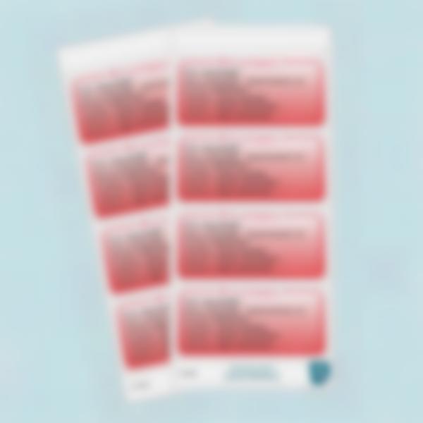 etiquettes polyallergies alerte medical classique 10 fr