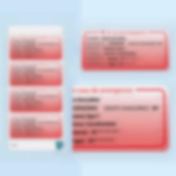 etiquettes polyallergies alerte medical multitexte zoom es