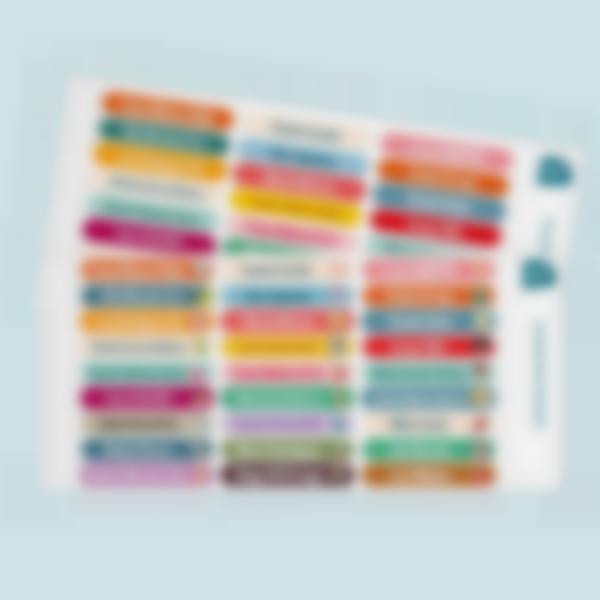 minis etiquetas adhesivas multi texto 2