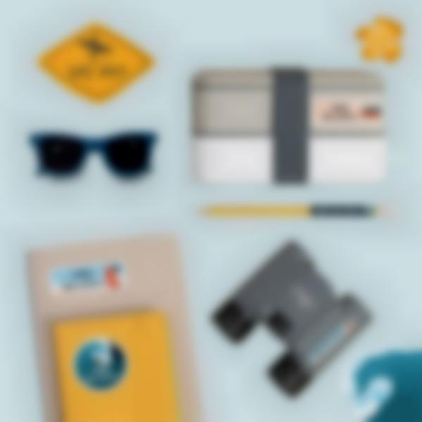 pack campamento etiquetas objetos 2