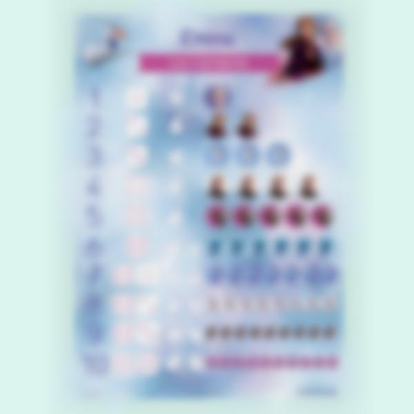 poster cuadro numero frozen 2