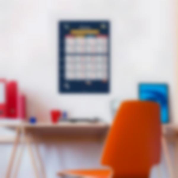 poster educativo personalizado tablas de conjugacion espacio 2