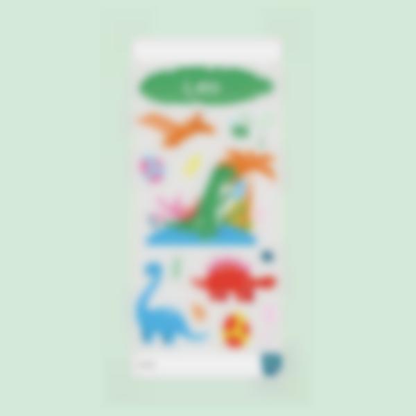 sticker cantimplora dino 0