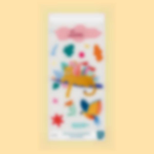 sticker cantimplora selva jungle vibes 1