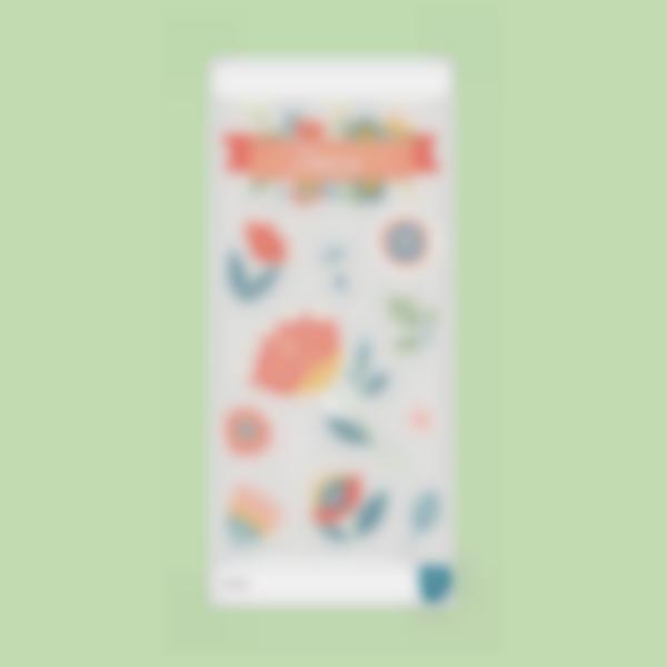 sticker gourde floral cantimplora garrafa bottle borraccia 2