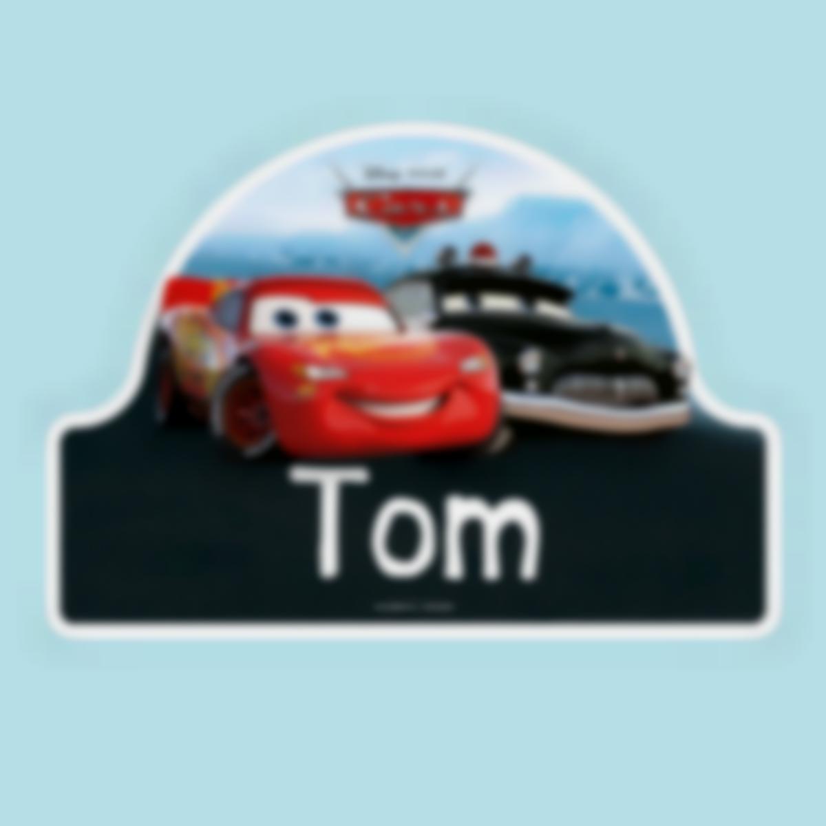 stickers porte disney cars
