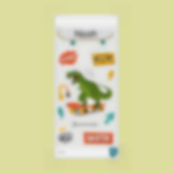 tirano saurio rex ludilabel stickers cantimplora 2
