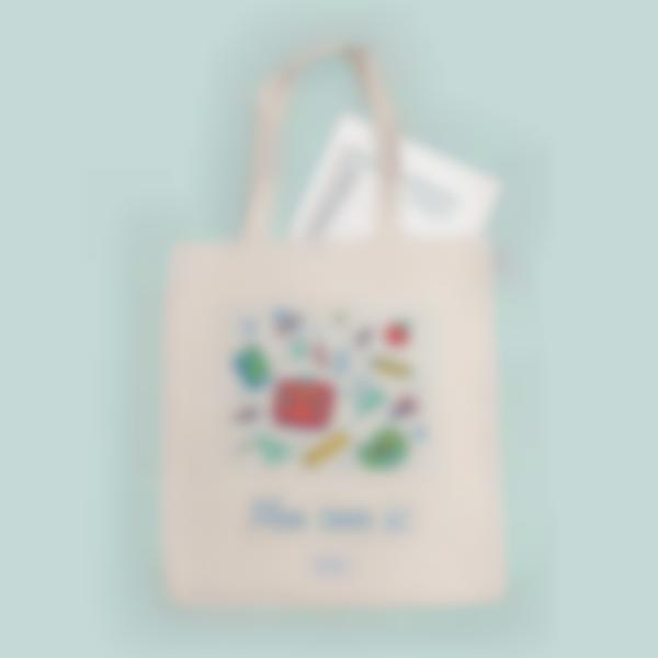 tote bag personnalise ecole 3