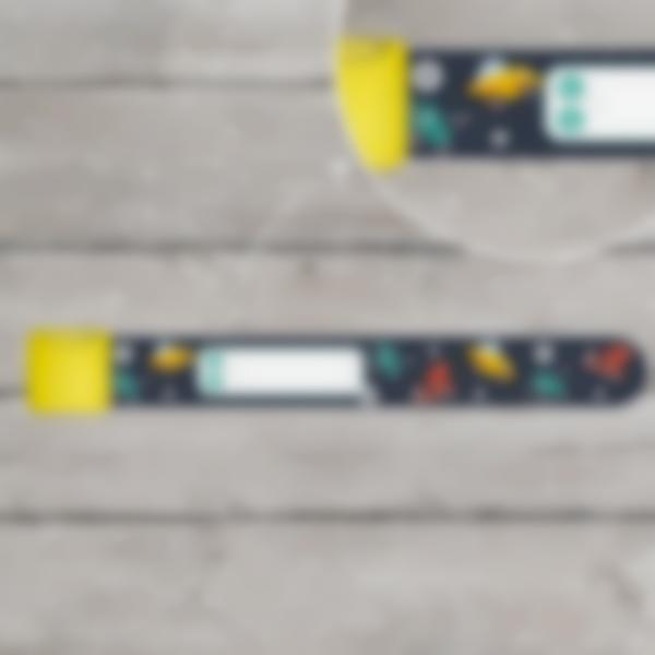 Pulsera identificativa - Construcción