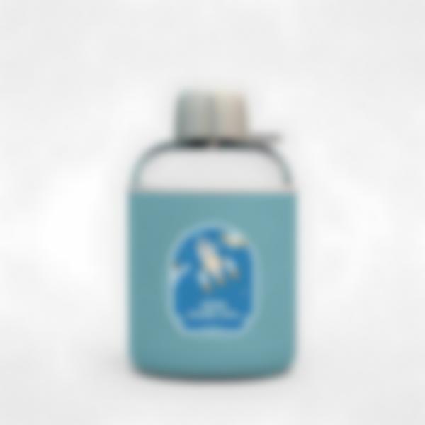 Cantimplora isotérmica personalizada azul – Espacio