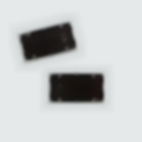 2 Cartuchos de tinta negra para recargar el sello