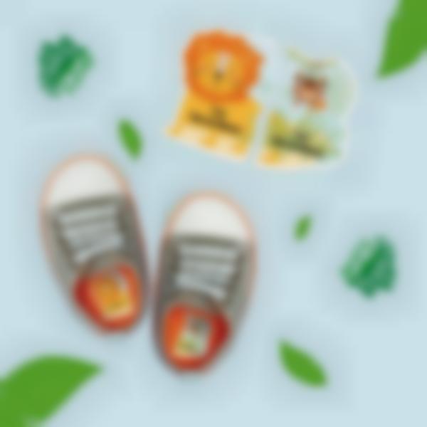 Etiquetas intuitivas Izquierda/Derecha para zapatos