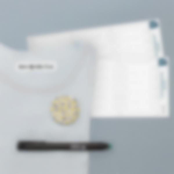 Etiquetas termoadhesivas blancas