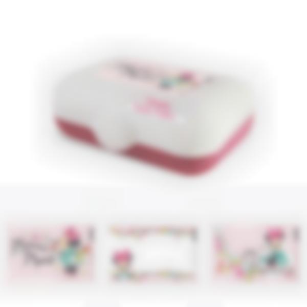 Ludibox - Fiambrera personalizada rosa – Disney Minnie