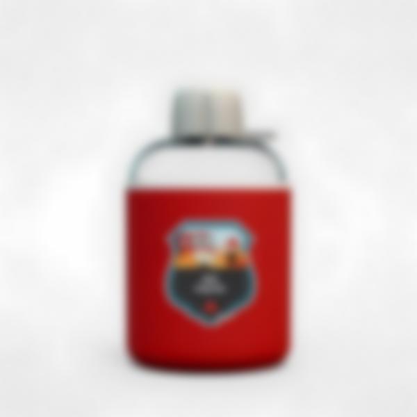 Cantimplora isotérmica personalizada rojo – Bomberos